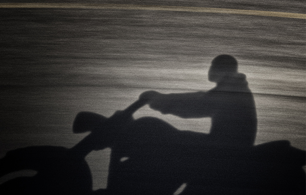 Motorcycle Shadow